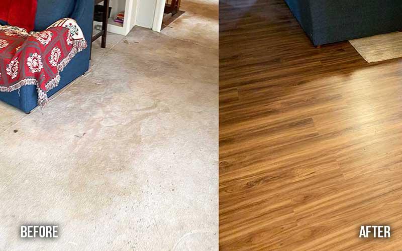 luxury vinyl plank flooring roswell ga